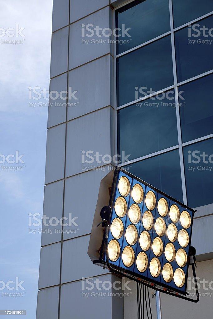 movie lights royalty-free stock photo