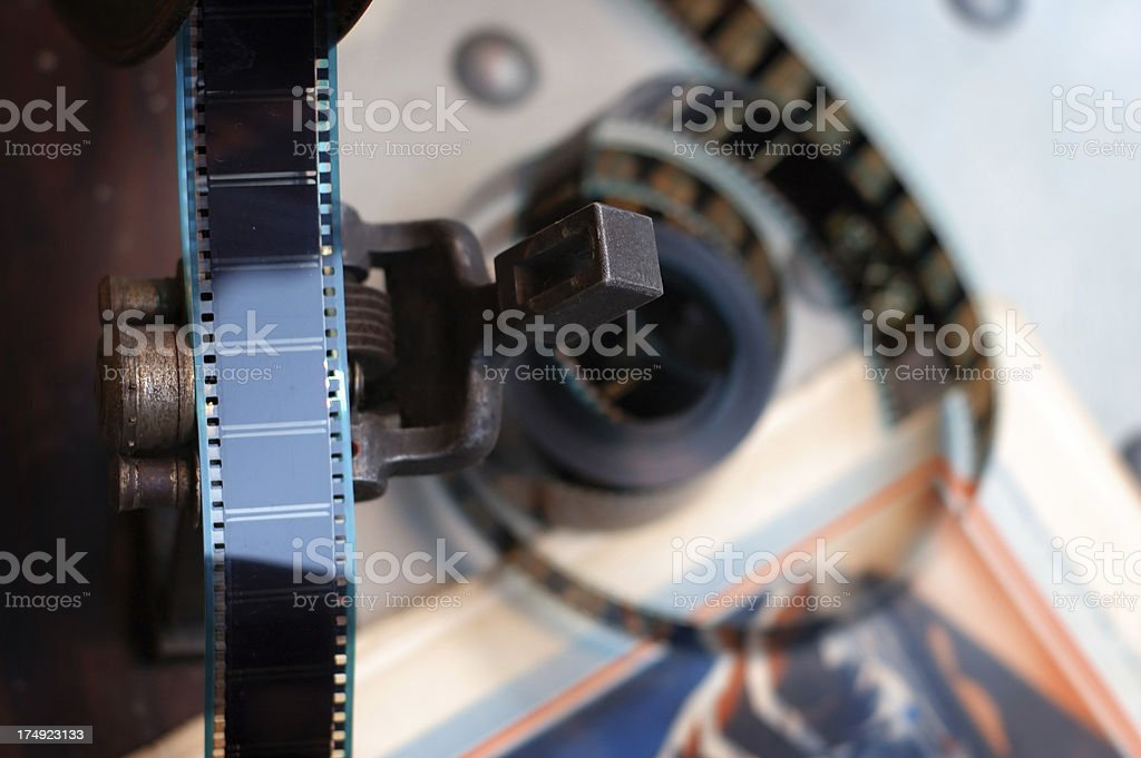 movie maker - 3 stock photo