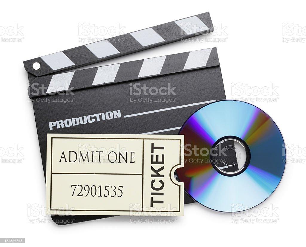 Movie Night stock photo
