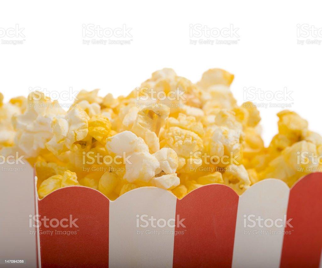 Movie Popcorn stock photo
