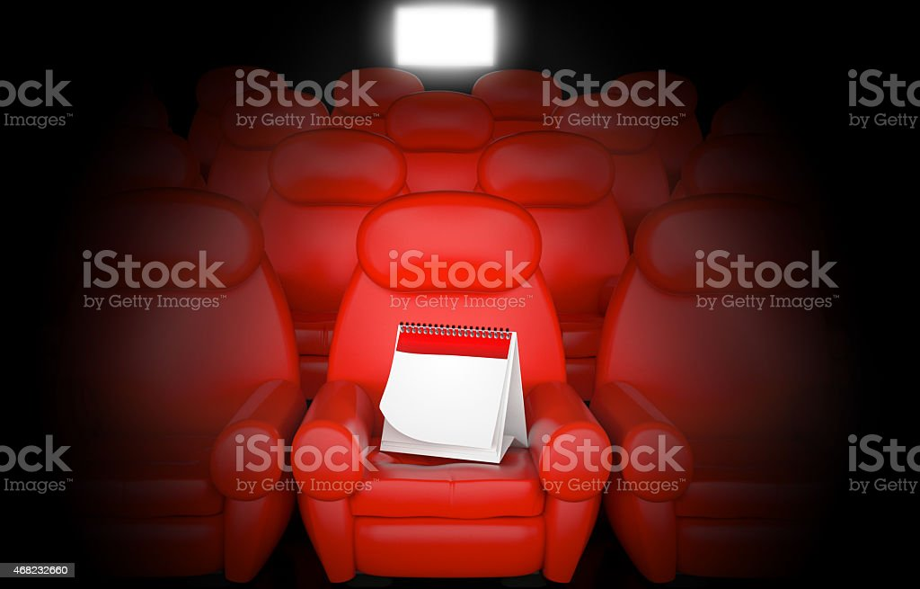 Movie premiere stock photo