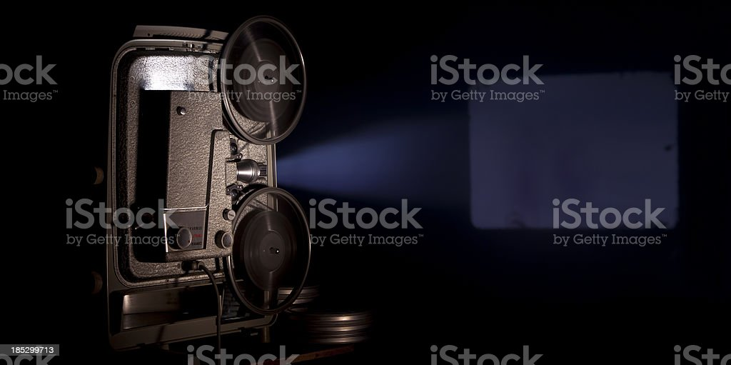 Movie Projector stock photo