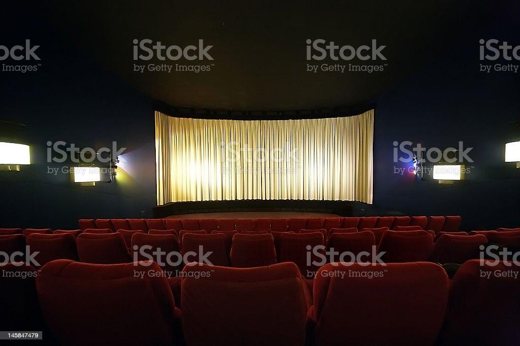 Movie Theater / Cinema royalty-free stock photo