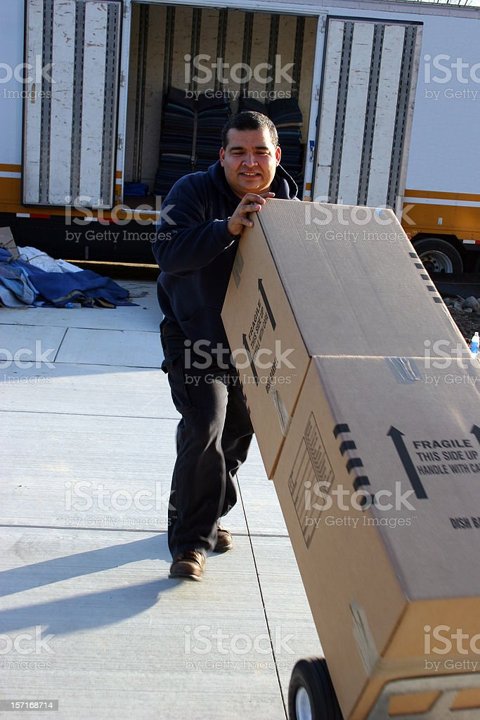 Moving 17 royalty-free stock photo