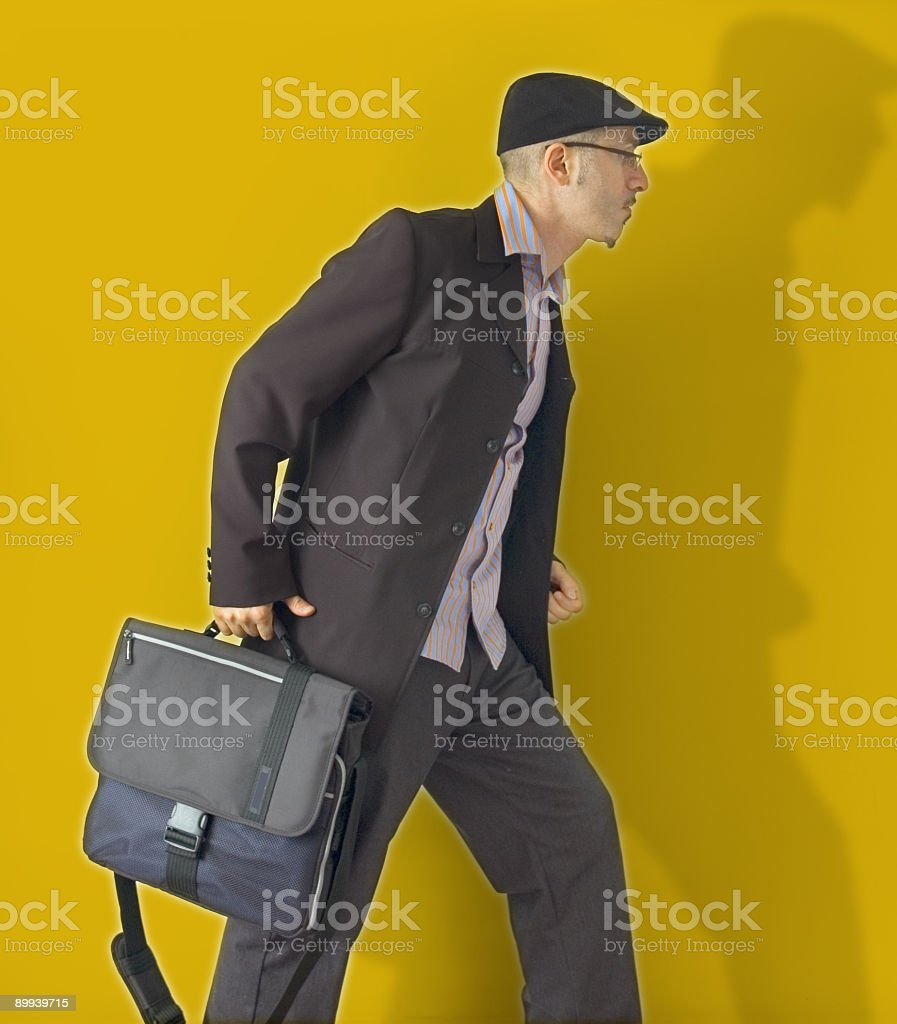 moving ahead royalty-free stock photo