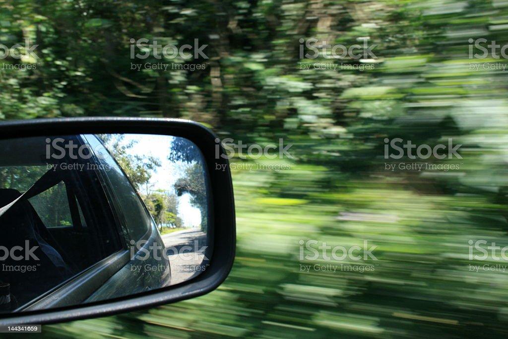 moving car royalty-free stock photo
