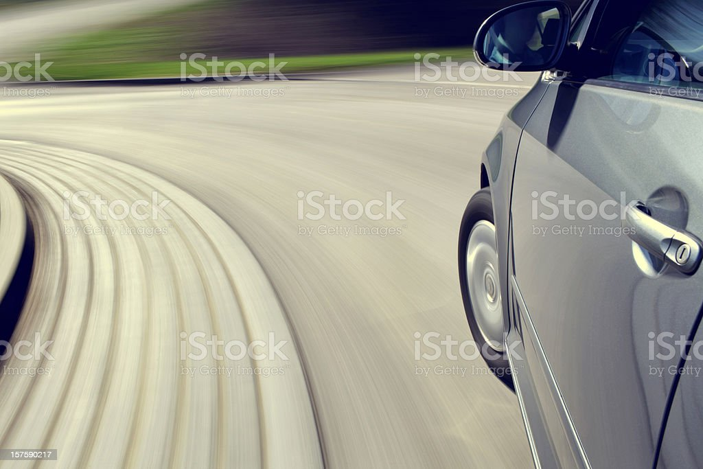 moving car stock photo