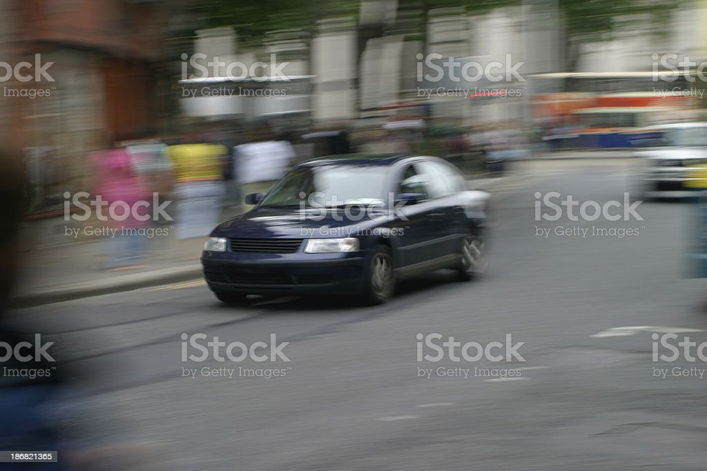 Moving Car royalty-free stock photo