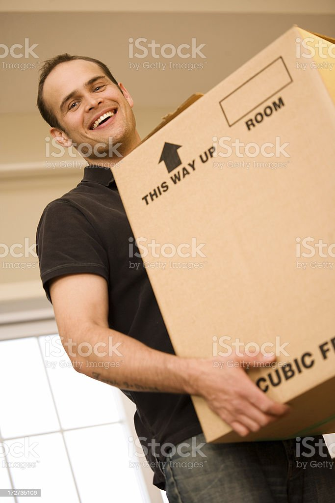 Moving Day royalty-free stock photo