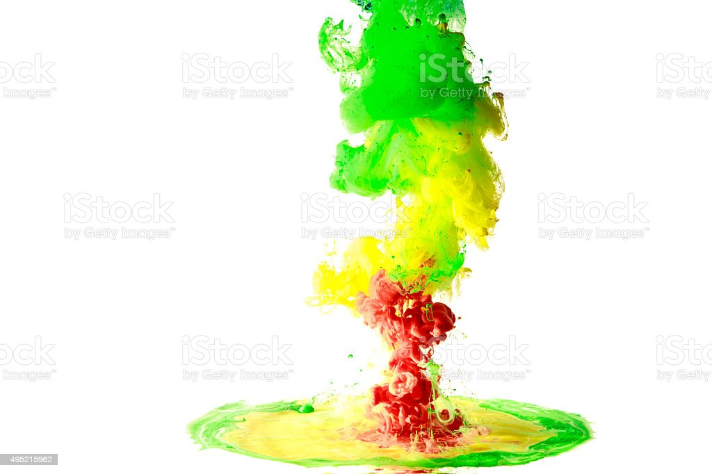 moving fluid and mix stock photo