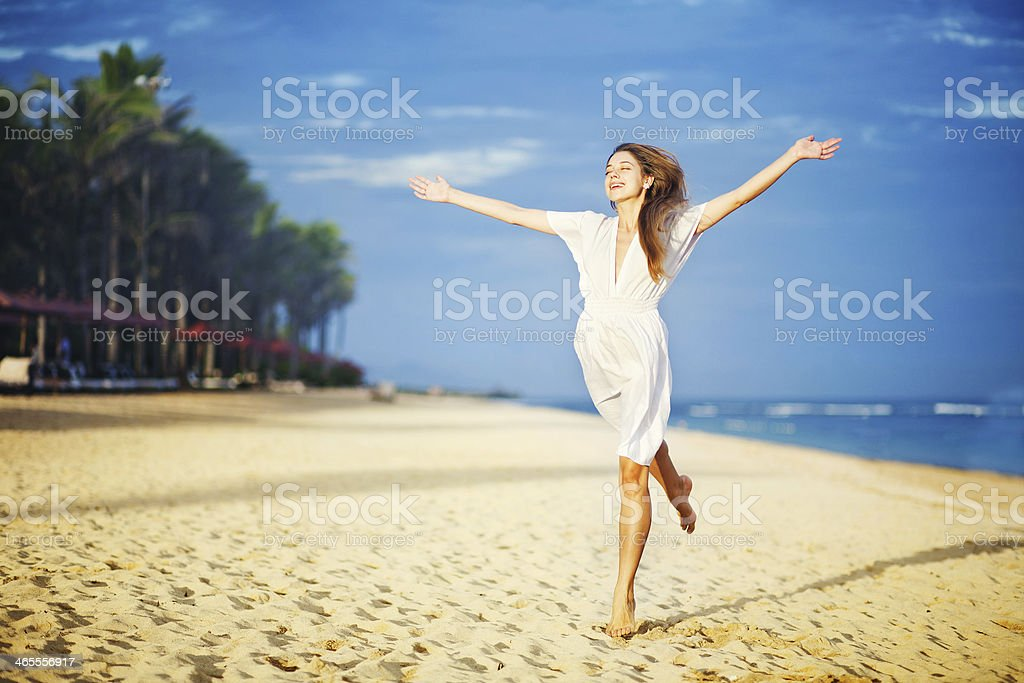 moving forward to the dream royalty-free stock photo