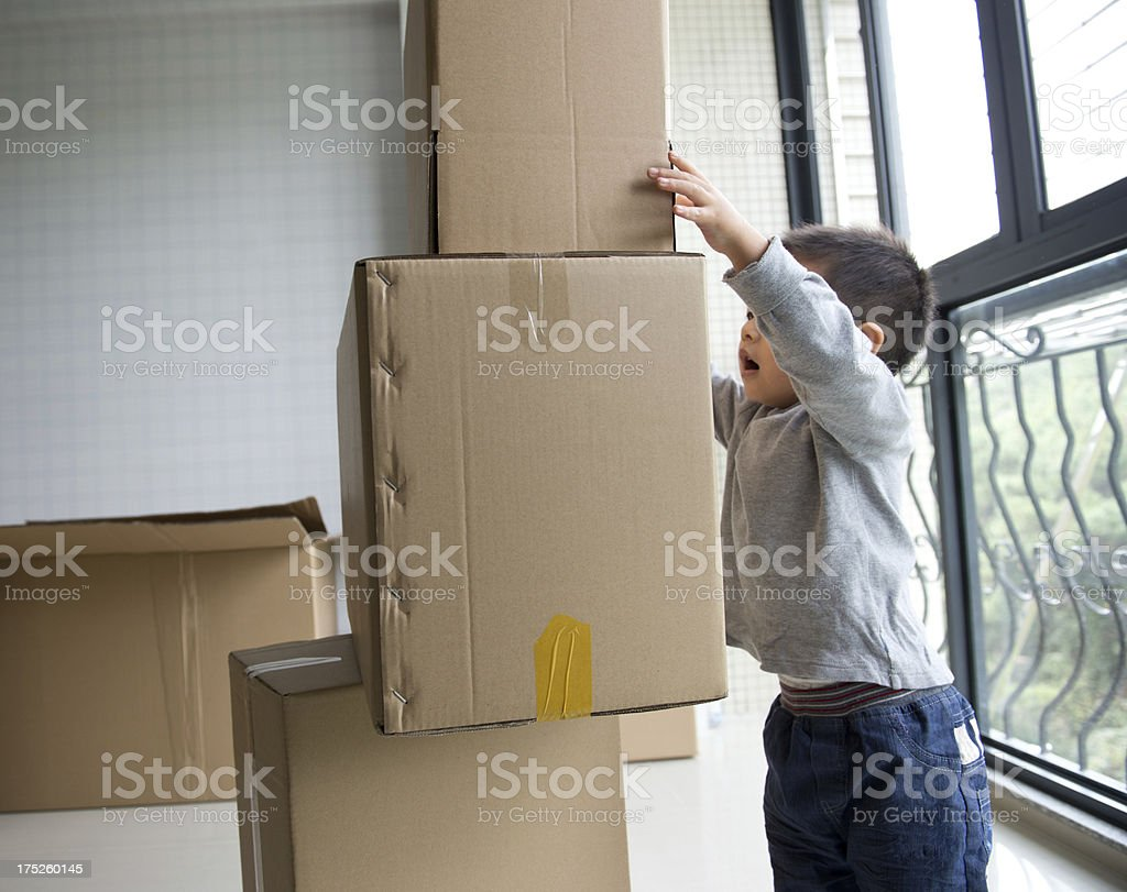 moving fun royalty-free stock photo