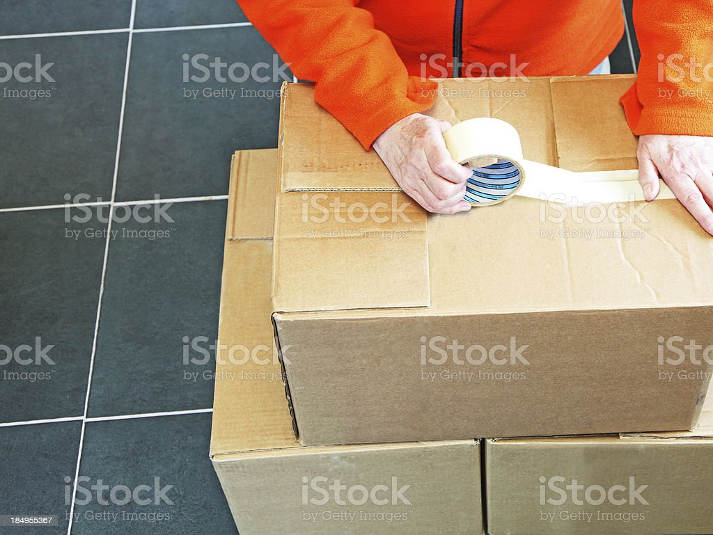 moving house concept stock photo