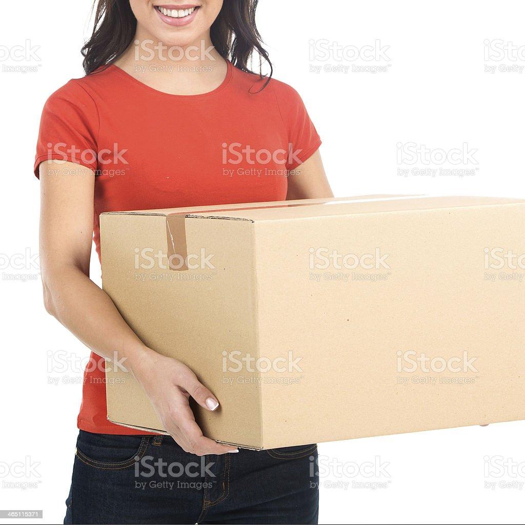 Moving House. stock photo