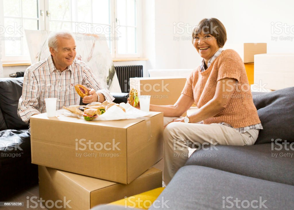 Moving In Day stock photo