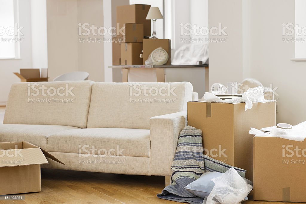 Moving In stock photo