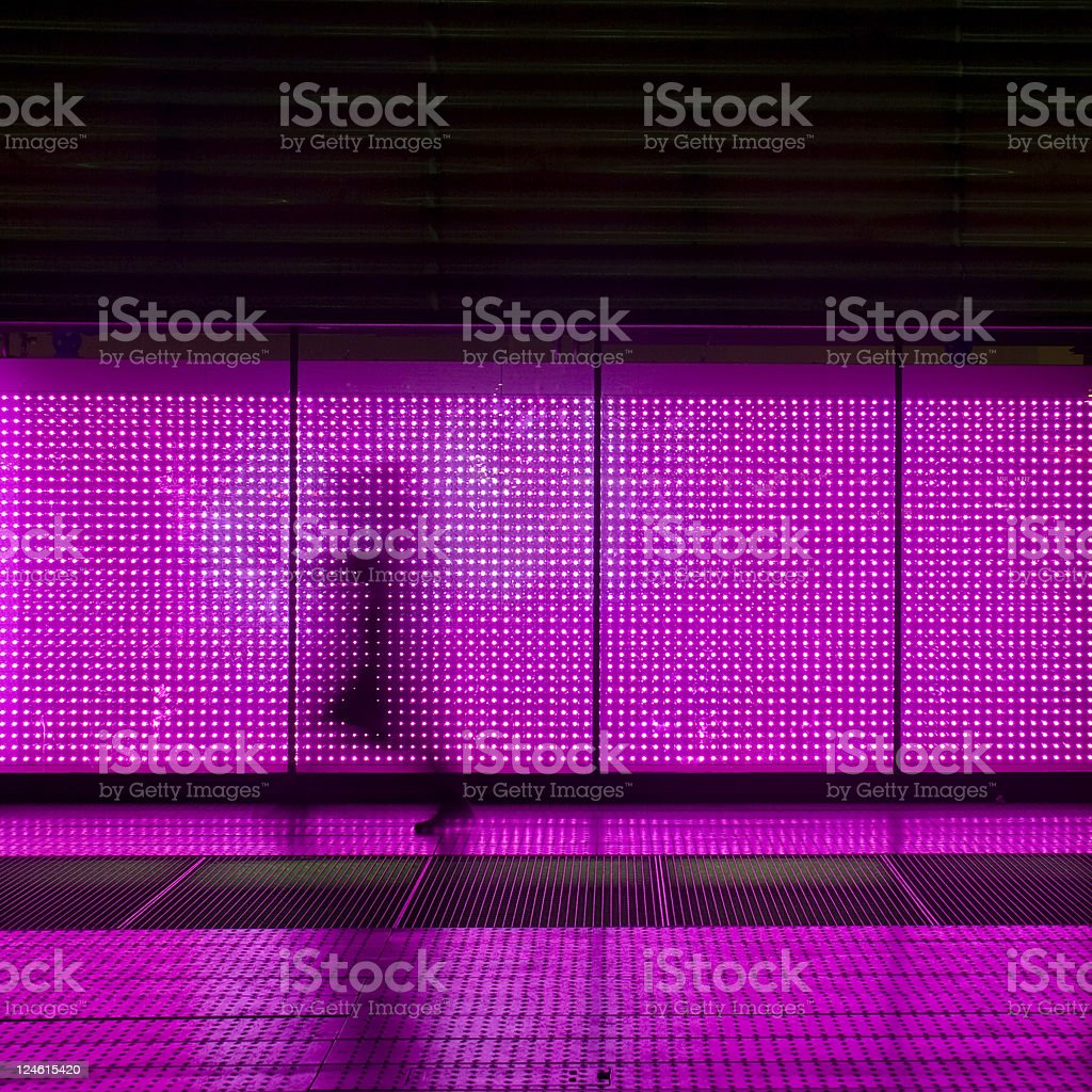 moving in pink stock photo