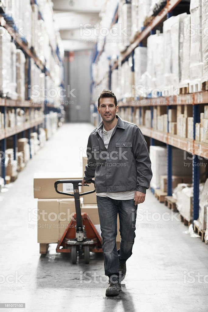 Moving inventory stock photo