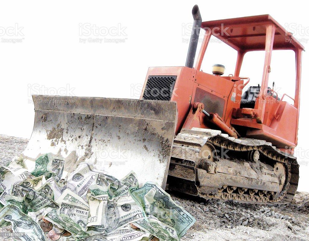 Moving Money royalty-free stock photo