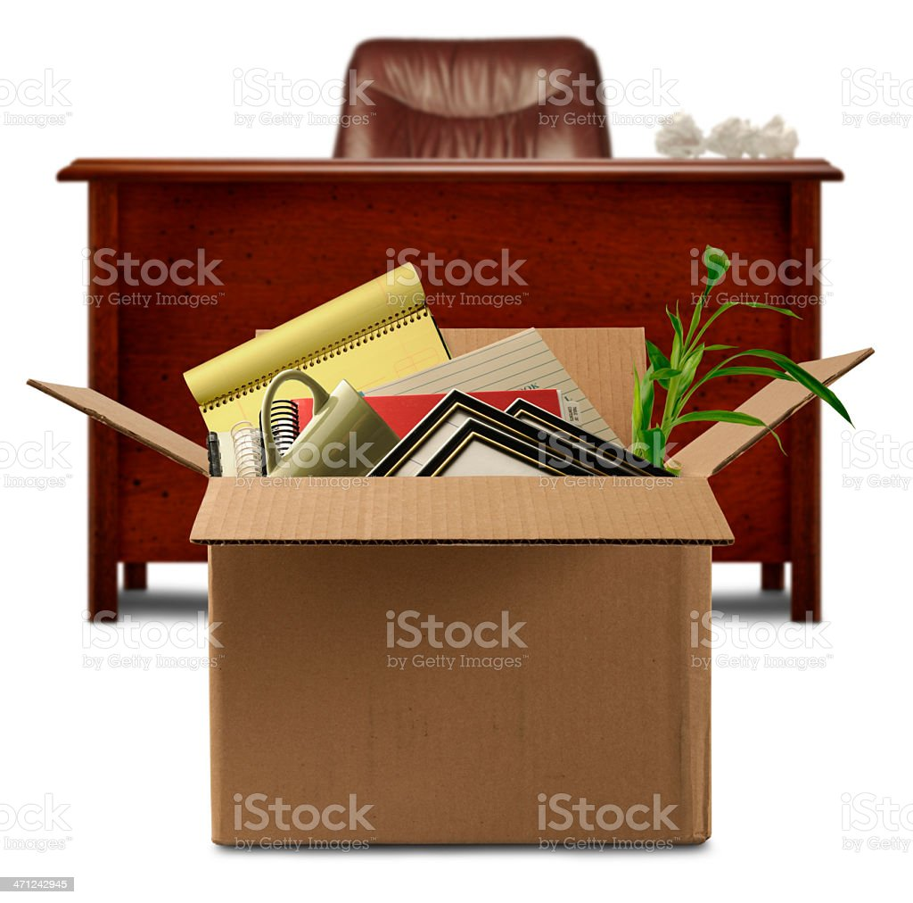 Moving Out stock photo