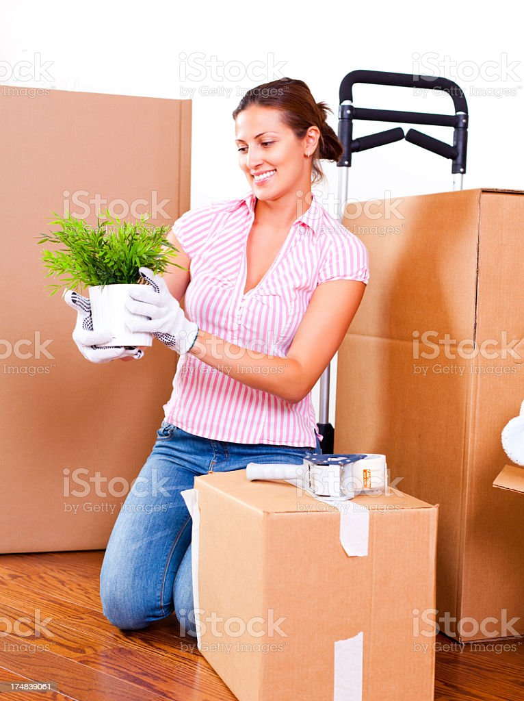 Moving. royalty-free stock photo