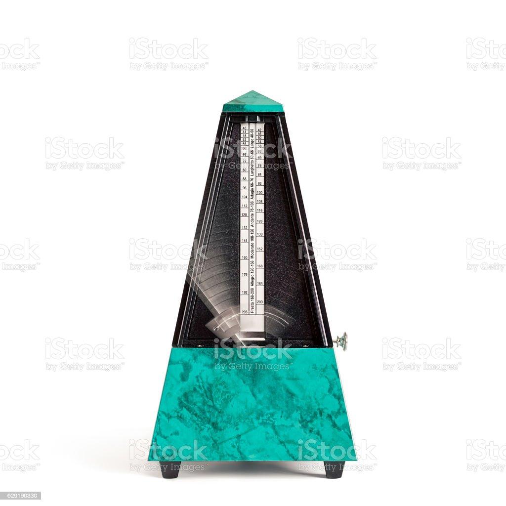 Moving Pyramid Metronome stock photo