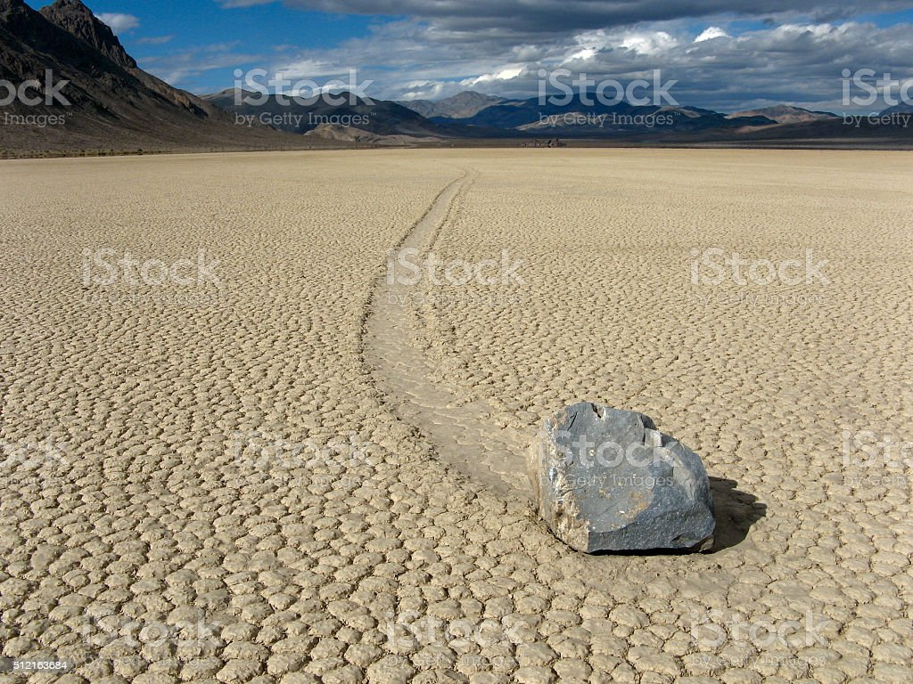 Moving Rock royalty-free stock photo