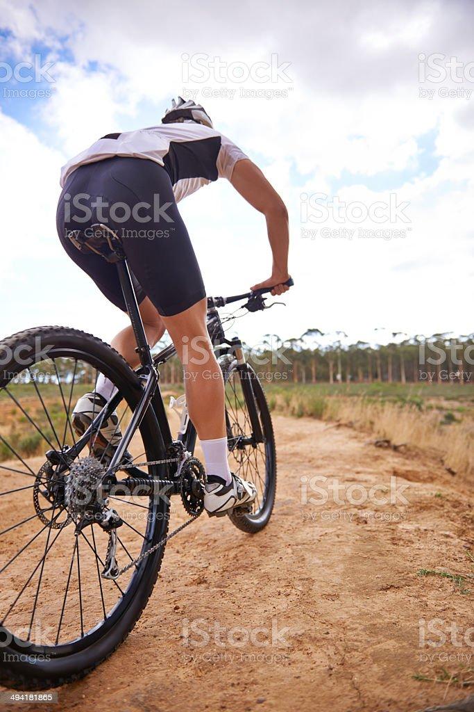 Moving towards fitness stock photo
