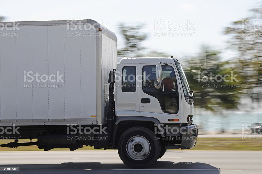 Moving Truck royalty-free stock photo