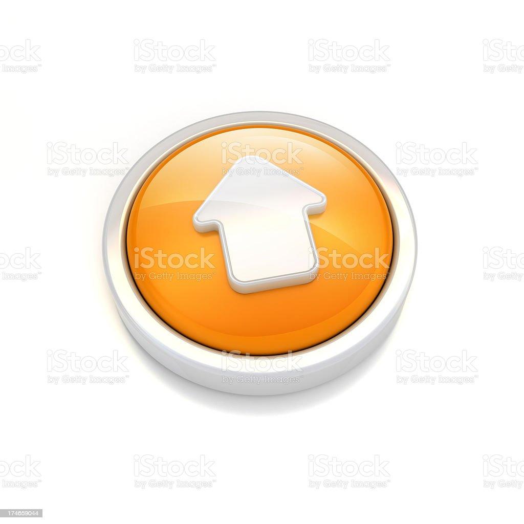 Moving Up or Uploading icon royalty-free stock photo