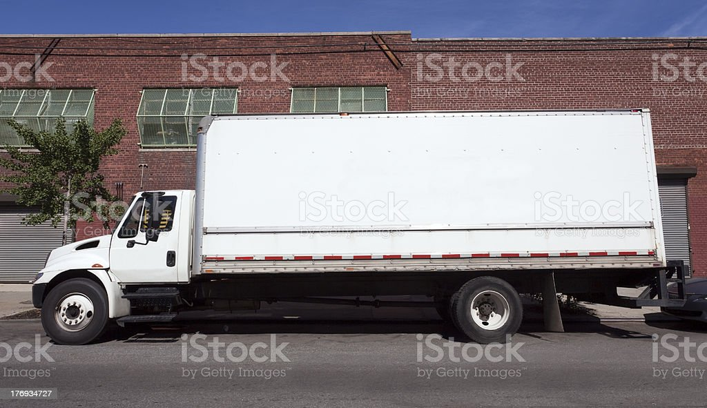 Moving Van royalty-free stock photo