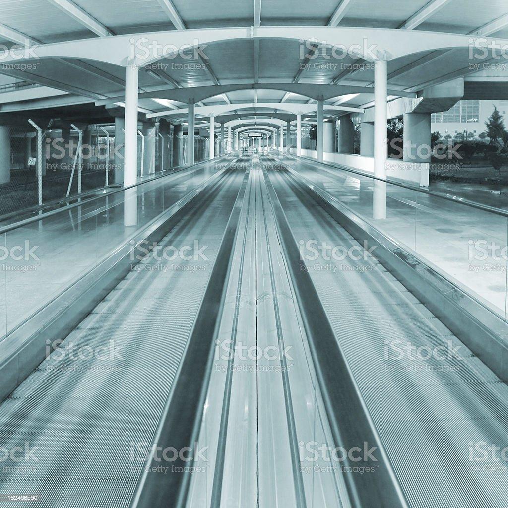 Moving Walkway royalty-free stock photo