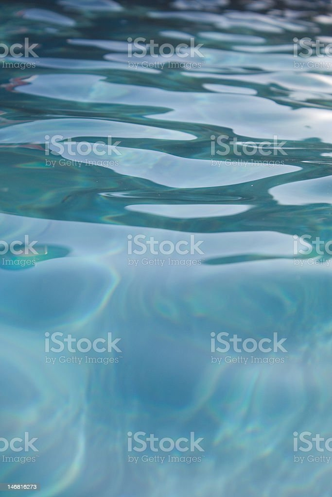 Moving Water royalty-free stock photo