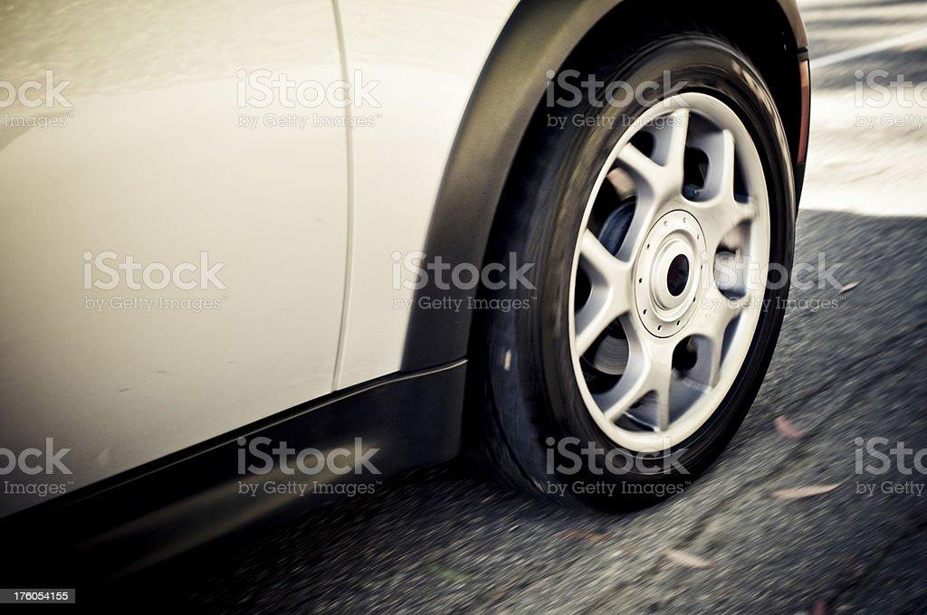 Moving Wheel royalty-free stock photo
