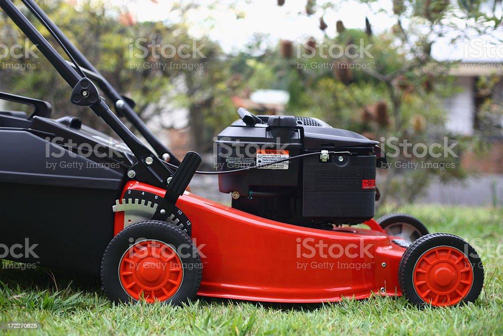 Mower stock photo