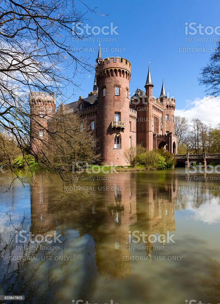 Moyland castle, Bedburg-Hau, North Rhine-Westphalia stock photo