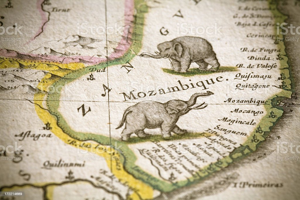Mozambique royalty-free stock photo