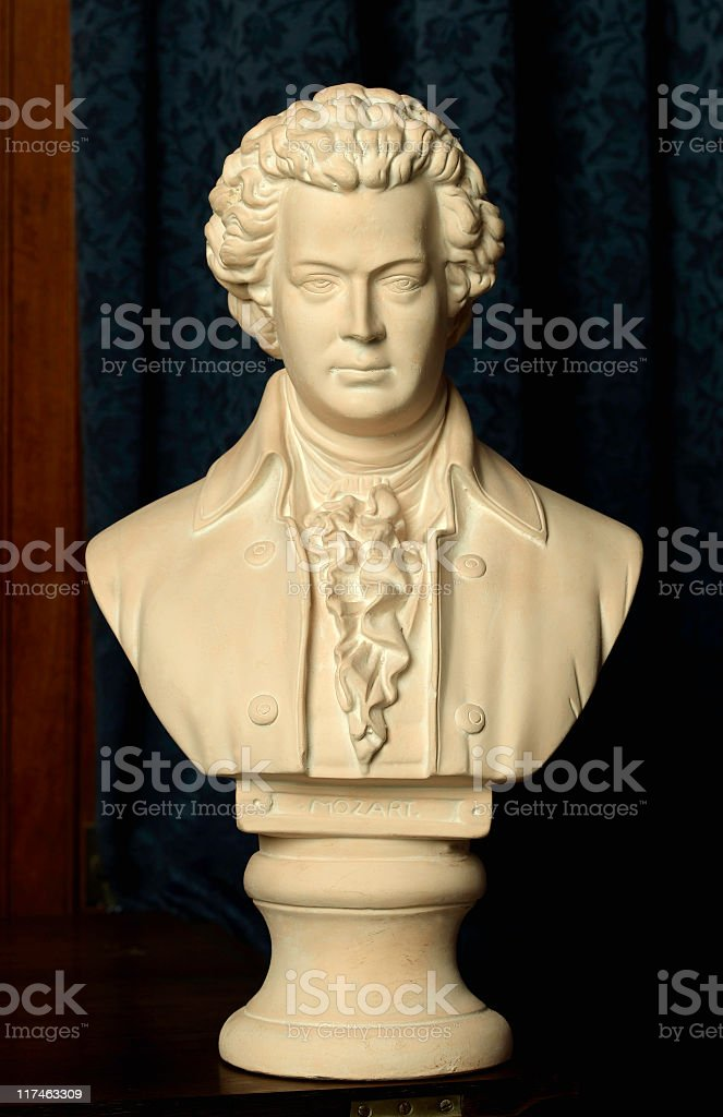 Mozart royalty-free stock photo