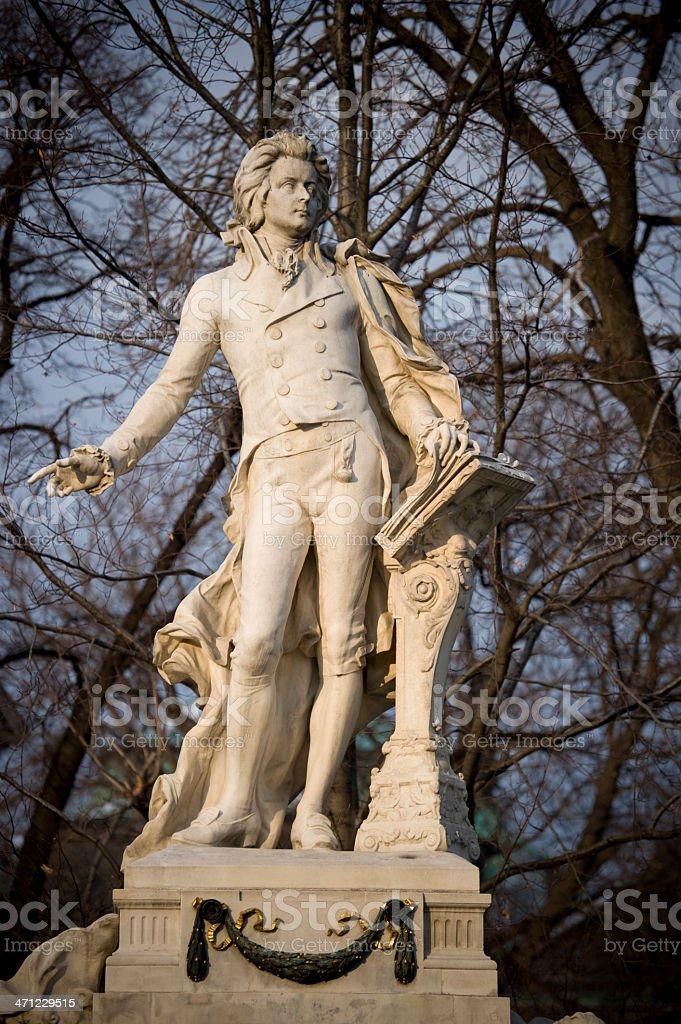 Mozart the genius royalty-free stock photo
