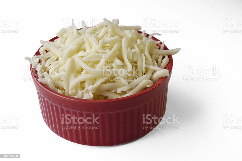 Mozzarella Cheese stock photo