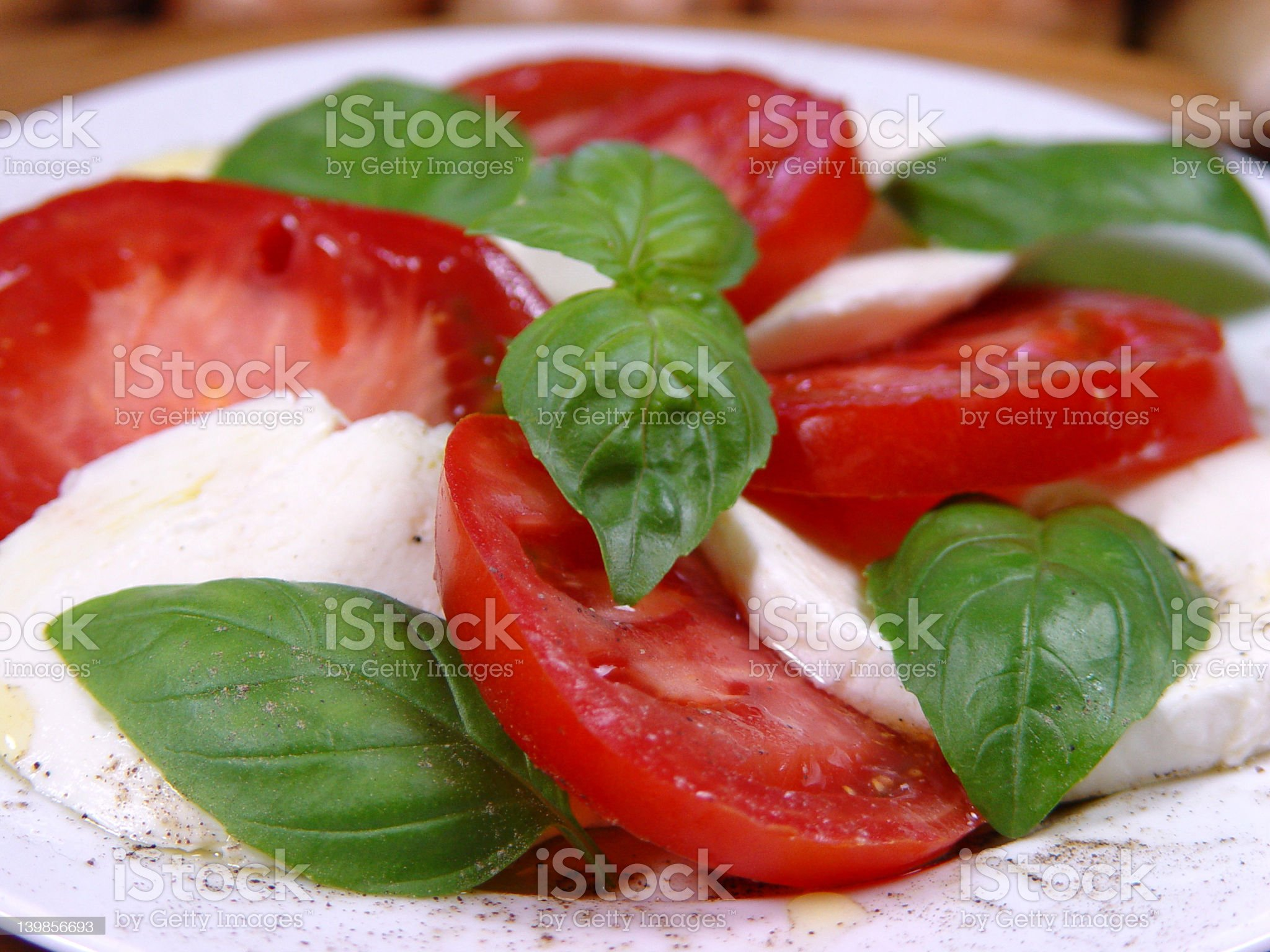 Mozzarella royalty-free stock photo