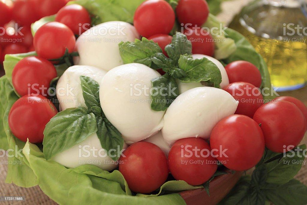 Mozzarella. royalty-free stock photo