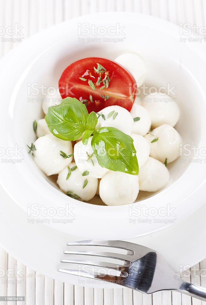 mozzarella royalty-free stock photo