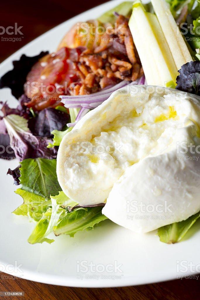 Mozzarella Salad royalty-free stock photo