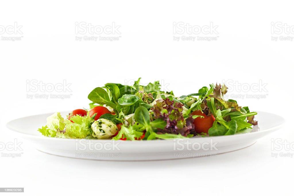 Mozzarella Tomato Salad stock photo