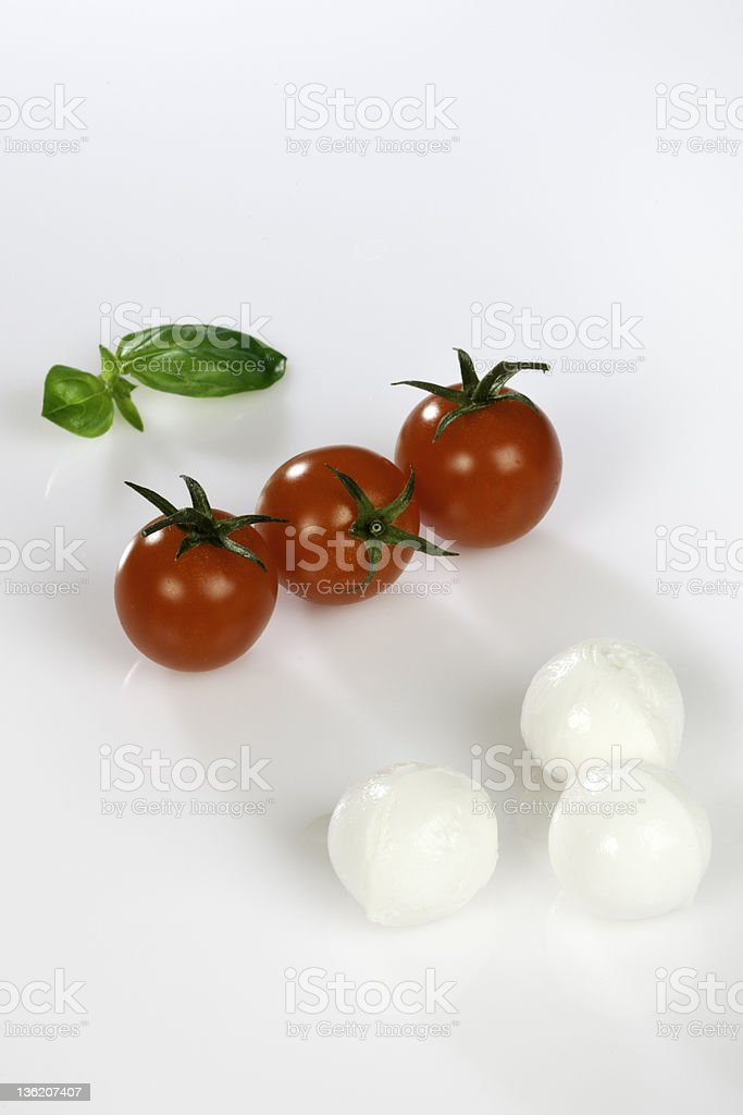mozzrelle 、pomodori 伝統 ロイヤリティフリーストックフォト