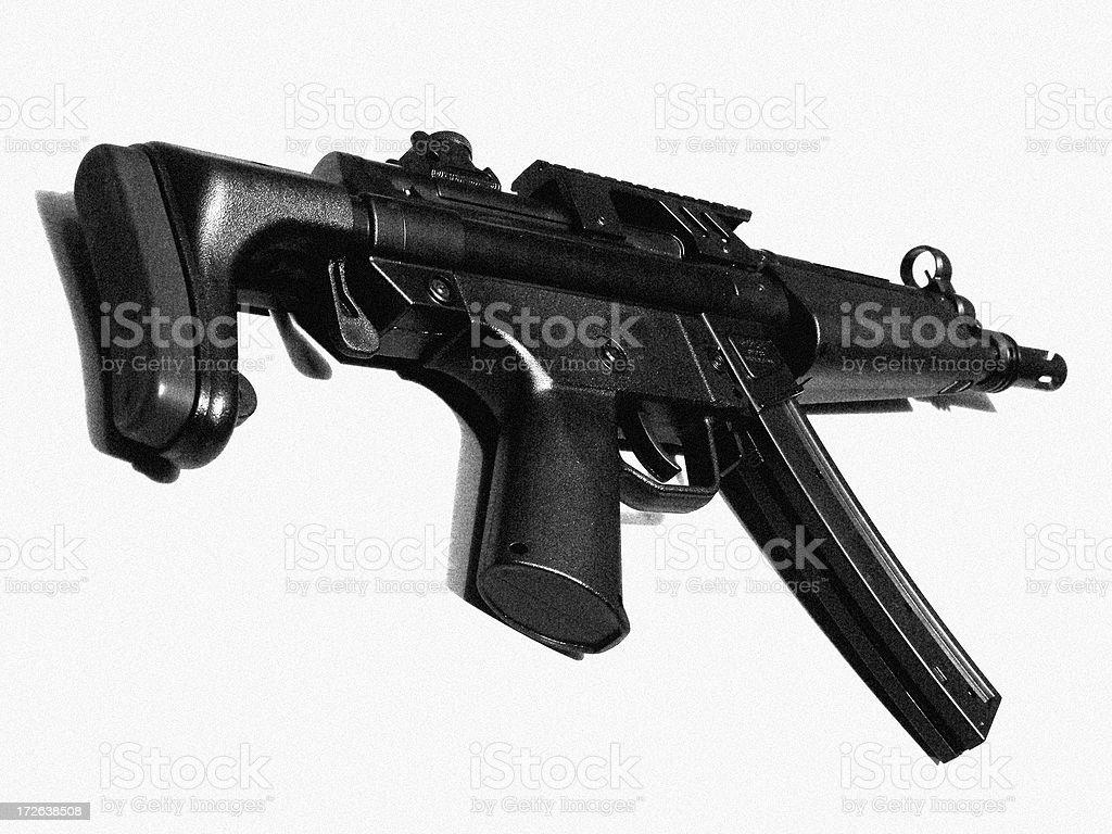 mp5 Gewehr Lizenzfreies stock-foto