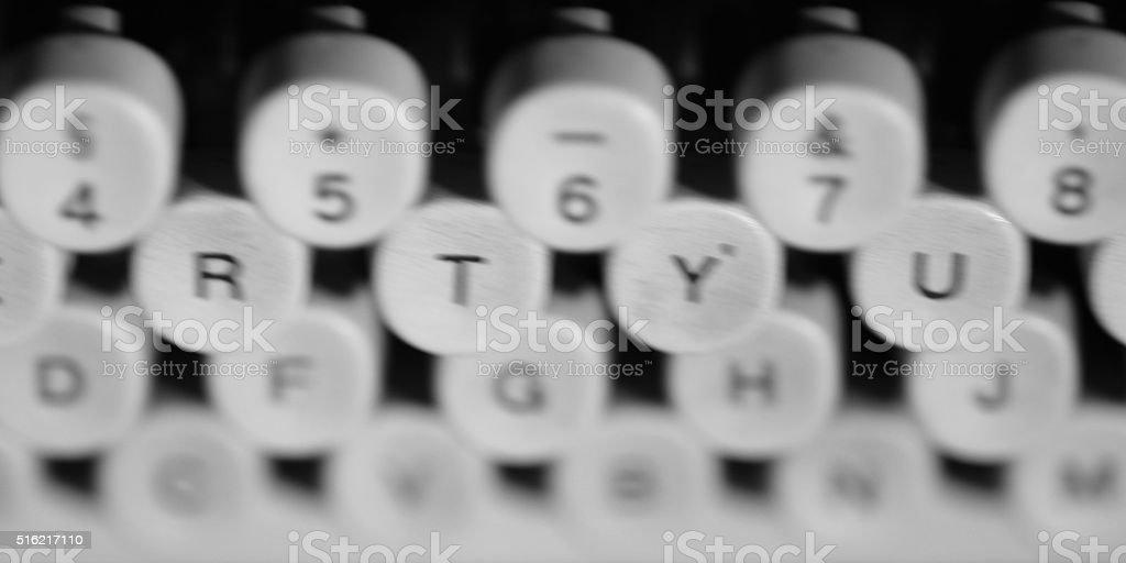 Máquina de escrever stock photo