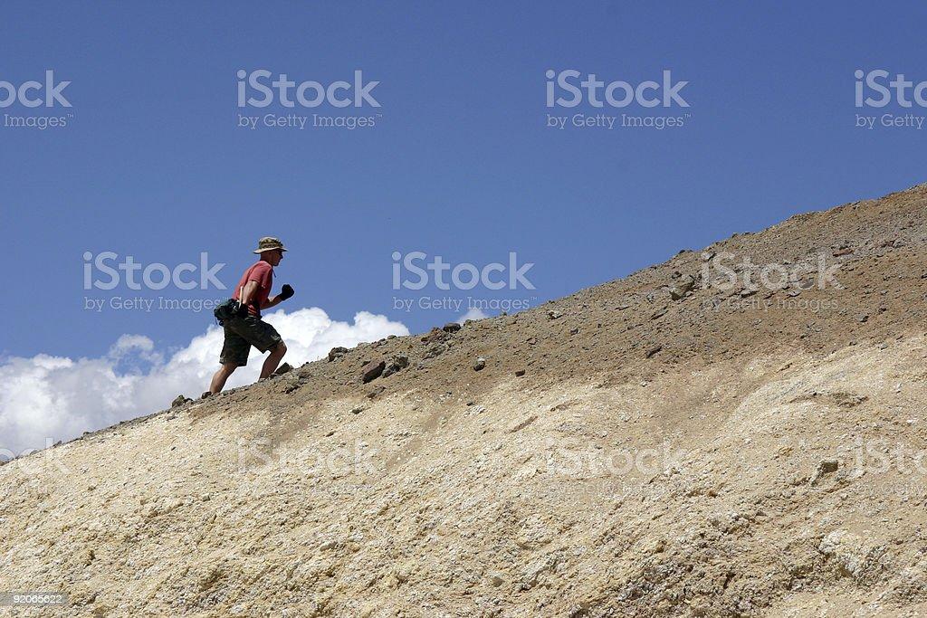 Mr.  Adventure stock photo