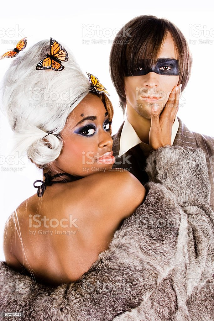 Mr & Mrs Smith royalty-free stock photo